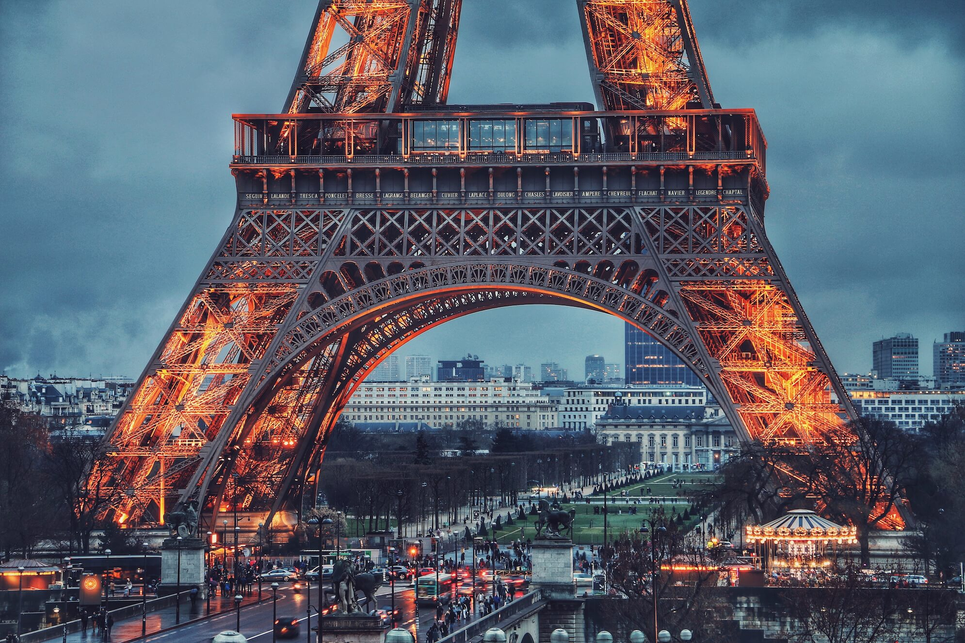 The Eiffel Tower, part of the 3-day Paris Charming Package